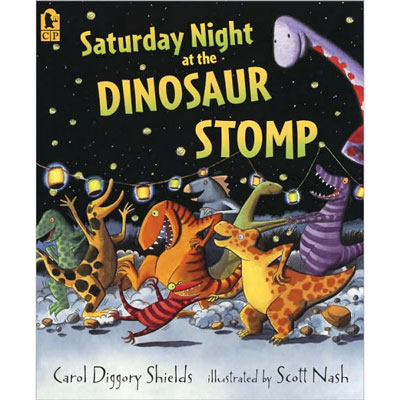 Saturday Night at the Dinosaur Stomp! -paperback 1