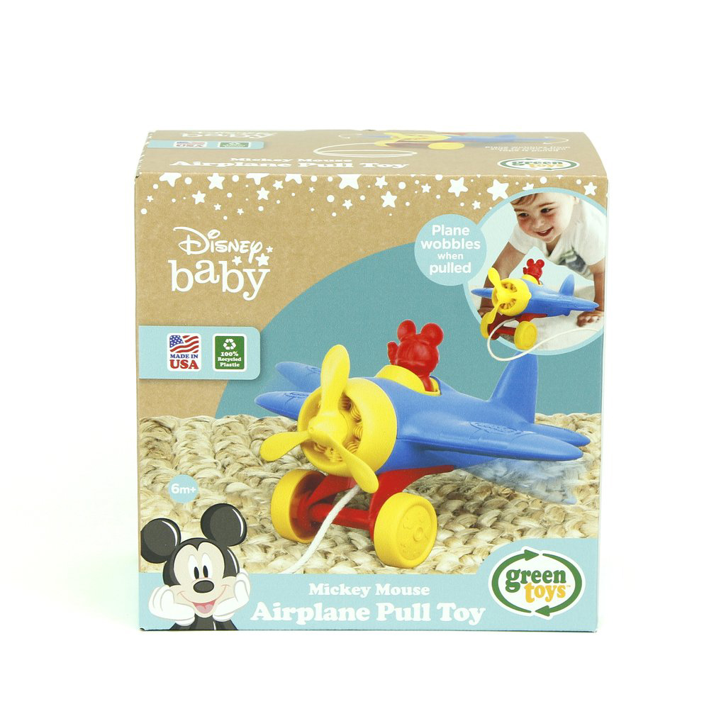 Disney Baby Mickey Mouse Airplane Pull Toy 2