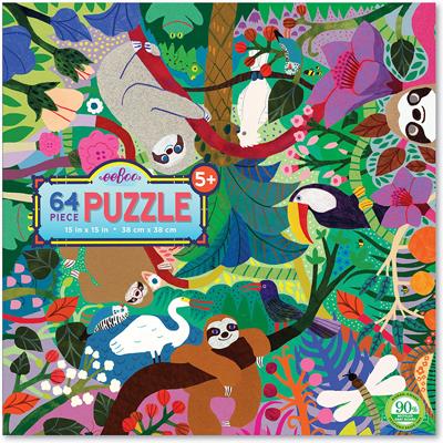 Sloths at Play 64 pc puzzle 1