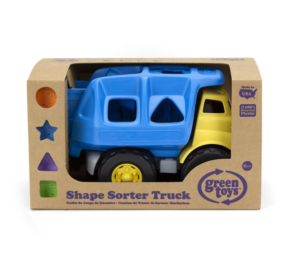Shape Sorter Truck by Green Toys 2