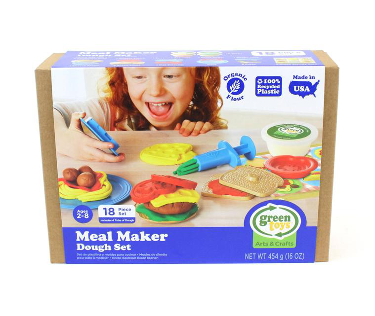 Meal Maker Dough Set by Green Toys 3