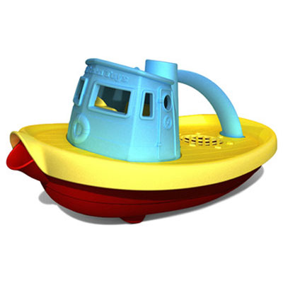 Blue Tugboat by Green Toys 1