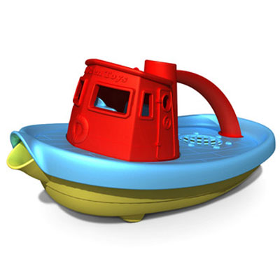 Red Tugboat by Green Toys 1