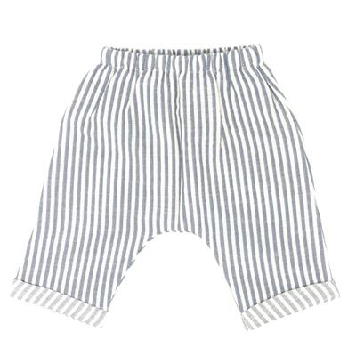 Blue stripe pants 1