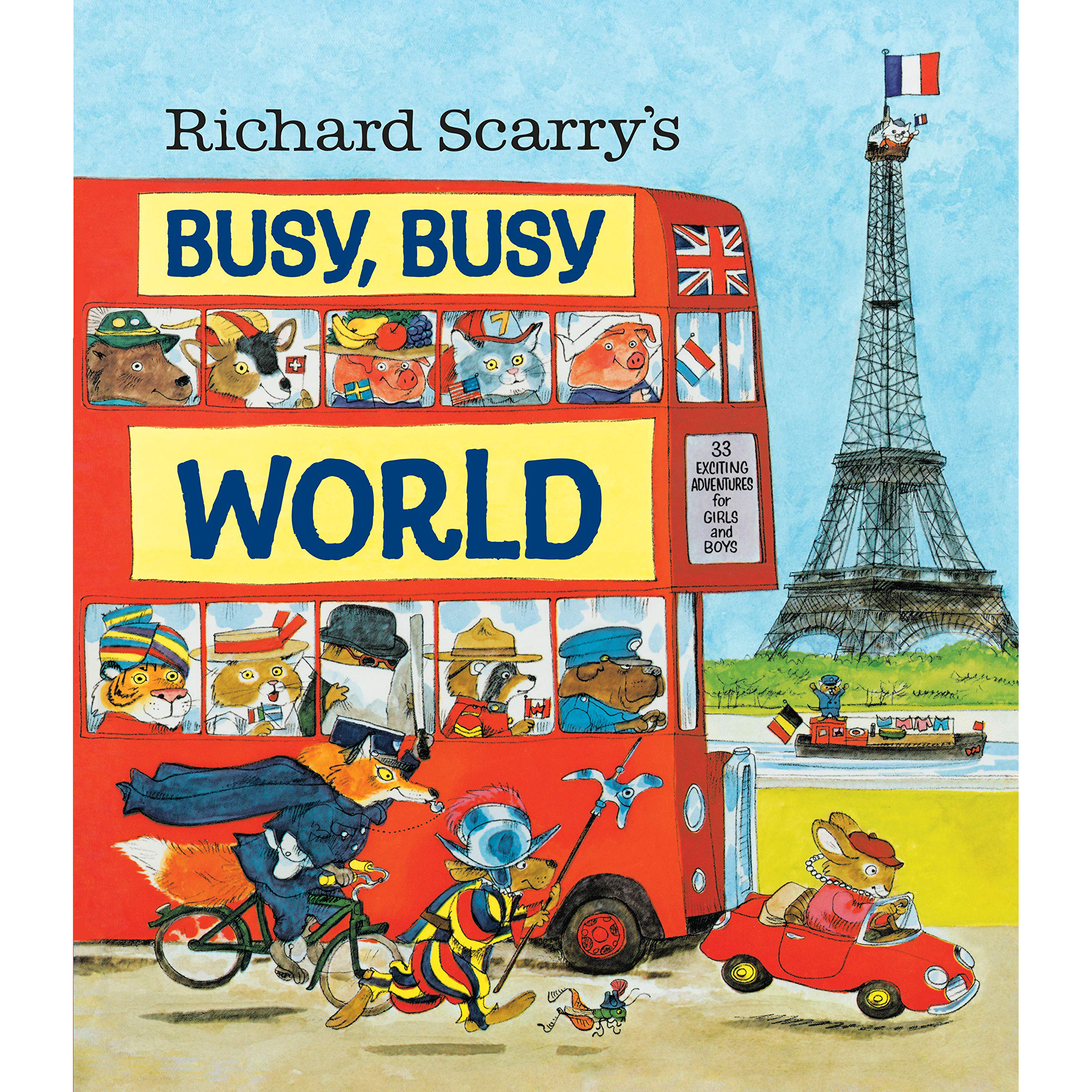Richards Scarry's Busy,Busy World 1