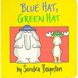 Blue Hat, Green Hat by Sandra Boynton - Board Book 1