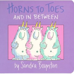 Horns to toes by Sandra Boynton - Board Book 1