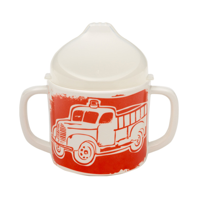 Fire truck sippy cup 1