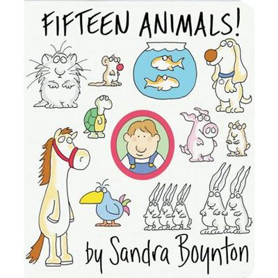Fifteen Animals by Sandra Boynton !