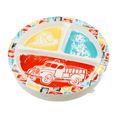 Fire truck divided suction cup plate 1