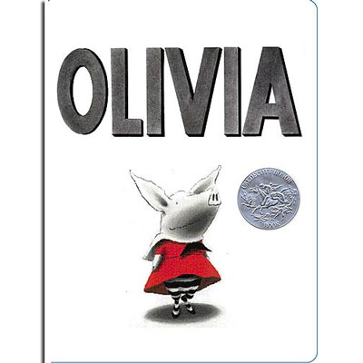 Olivia by Ian Falconer - Board book 1