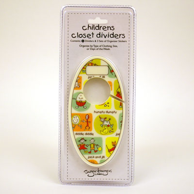 Nursery Rhyme Children's Closet Dividers by Sugar Booger 1