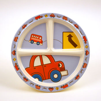 Vroom divided plate with suction base by Sugar Booger 1
