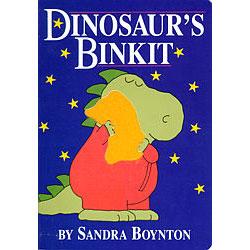 Dinosaur's Binkit by Sandra Boynton - Board Book 1