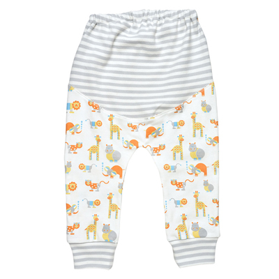 Safari animal print organic pants 2