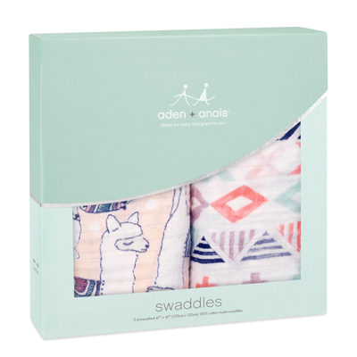 Trail Blooms classic swaddles - 2 pack 3