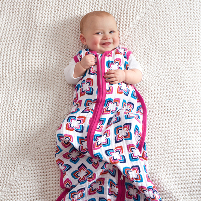 Flip side muslin sleeping bag (medium) 6-12 months 2