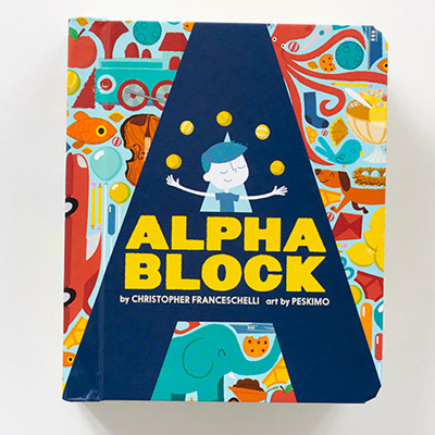 Alphablock by Christopher Franceschelli 1