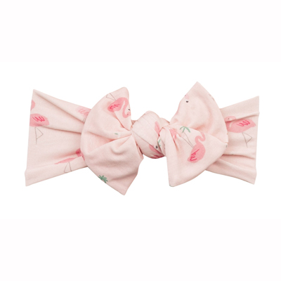 Flamingos headband 0-12 months 1