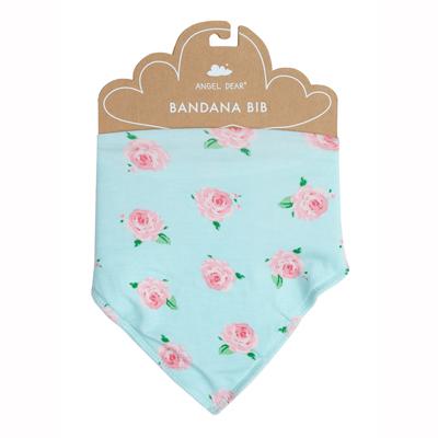 Petite Rose bandana bib 1