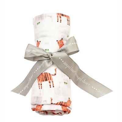 Tigers muslin swaddle blanket 1