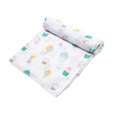 Sprinkles muslin swaddle blanket 1