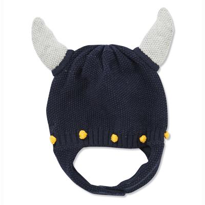 Navy Blue Viking hat 1