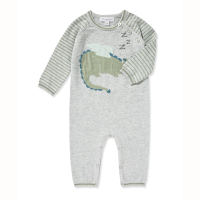Dragon intarsia coverall - 6-12 months 1