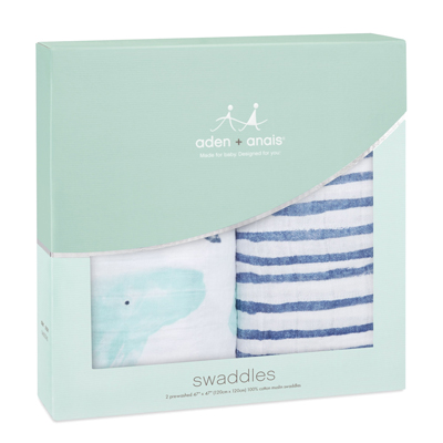 Seafaring classic swaddles - 2 pack 3