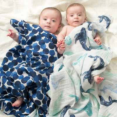 Seafaring classic swaddles - 2 pack 2