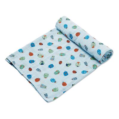 Lovely Bugs muslin swaddle blanket 1
