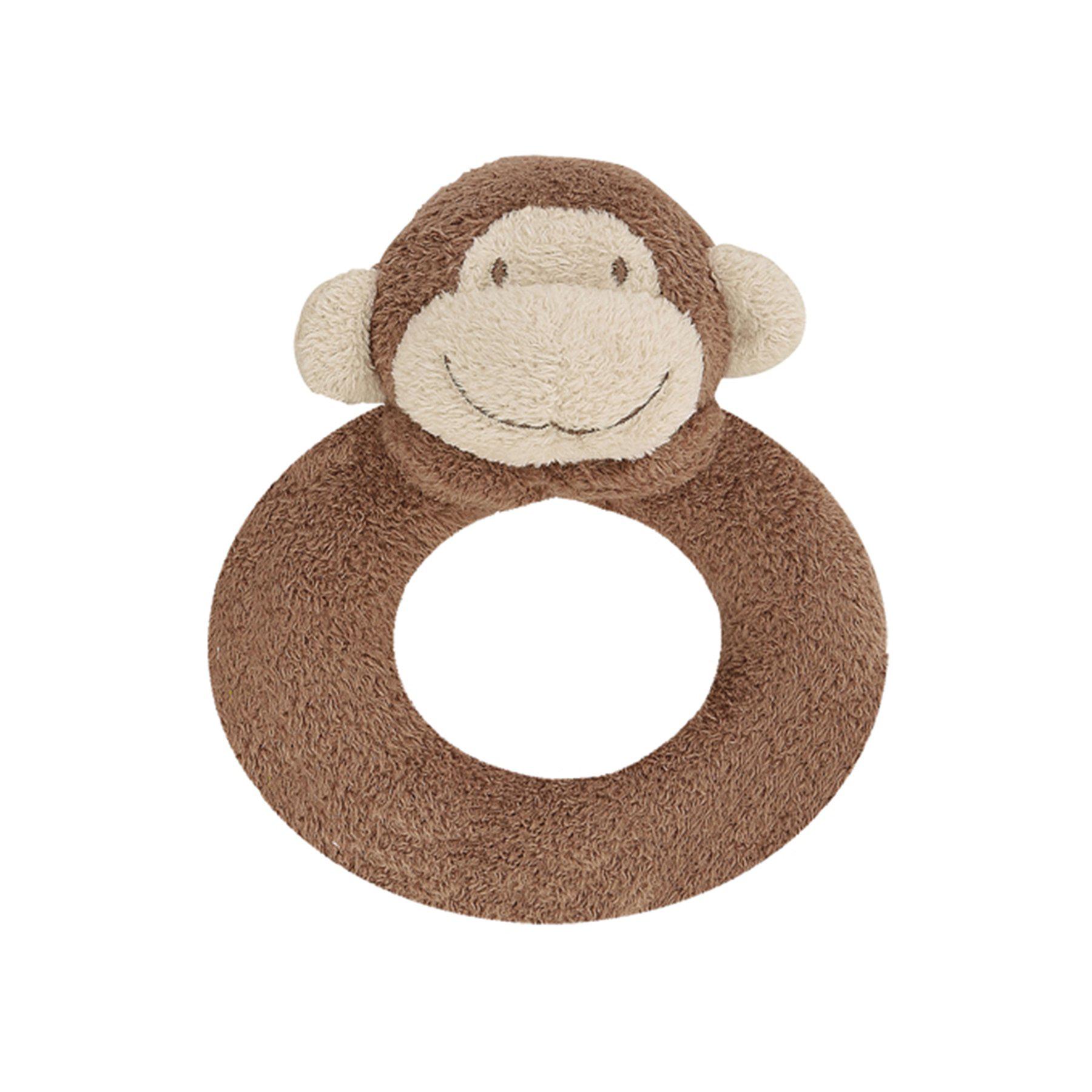 Monkey ring rattle by Angel Dear 1
