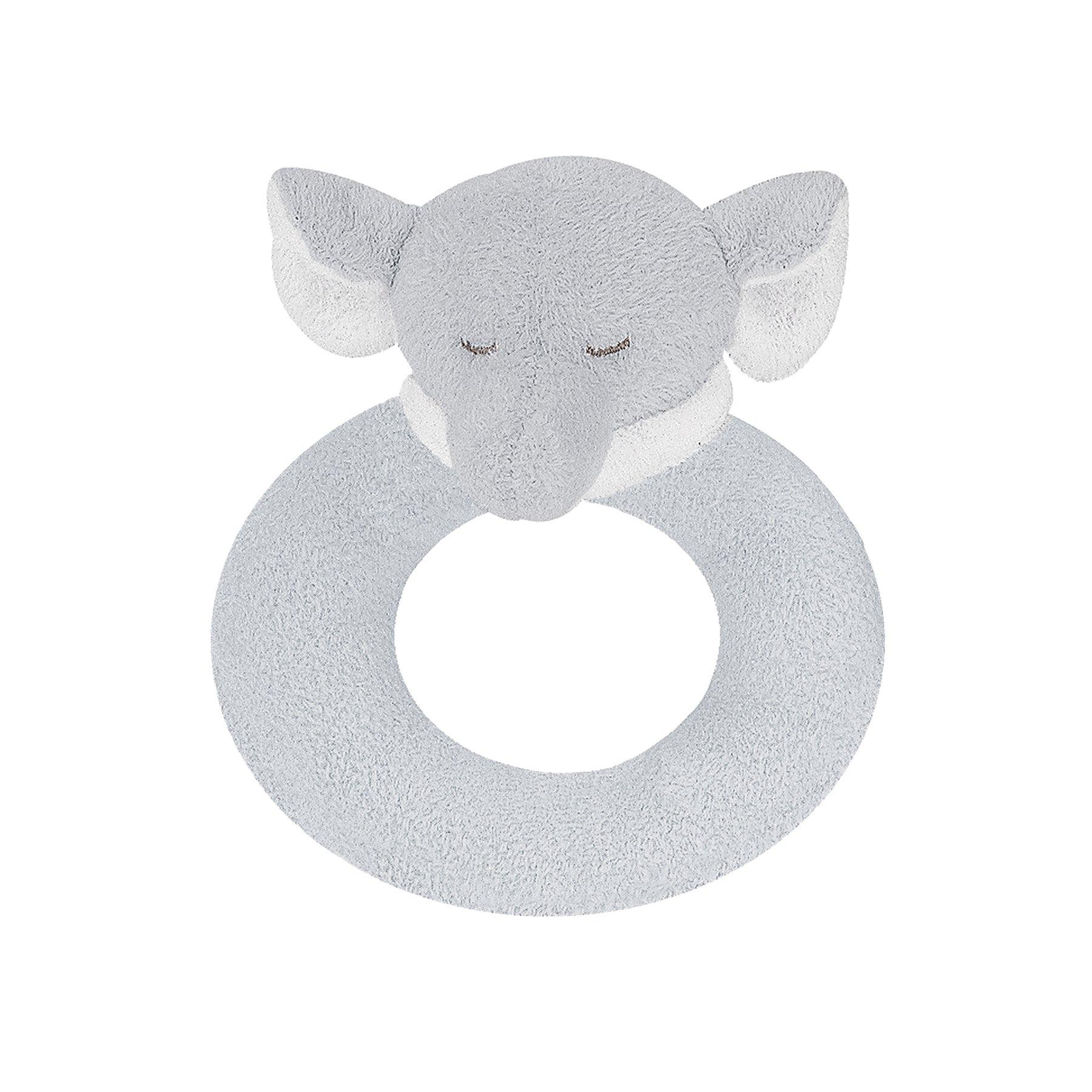 Grey elephant ring rattle 1
