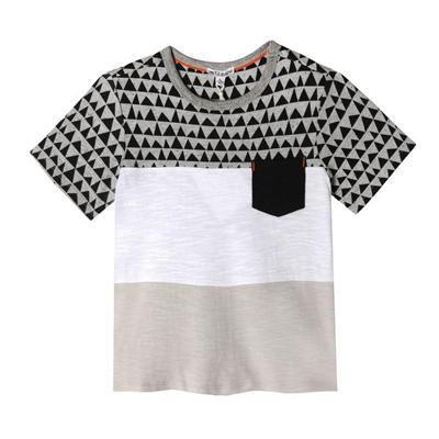 Triangle print jayden shirt 1