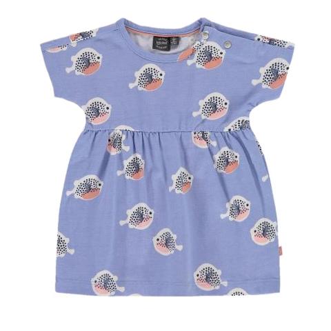 Fish print dress 1