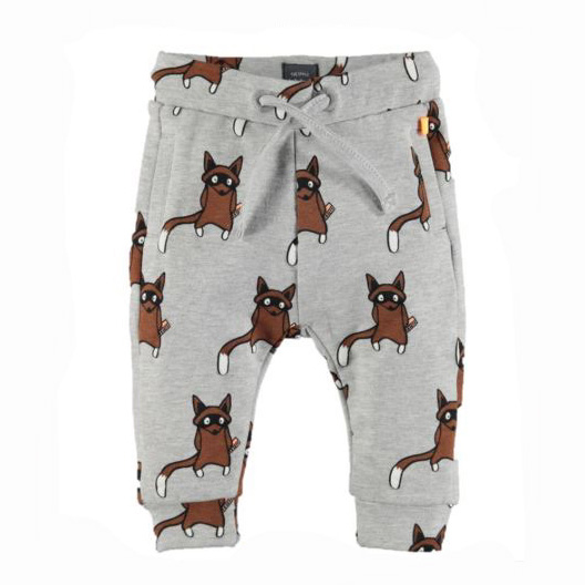 Raccoon baby pants 1