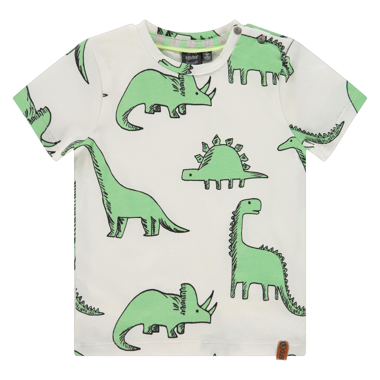 Dinosaur print SS shirt 1
