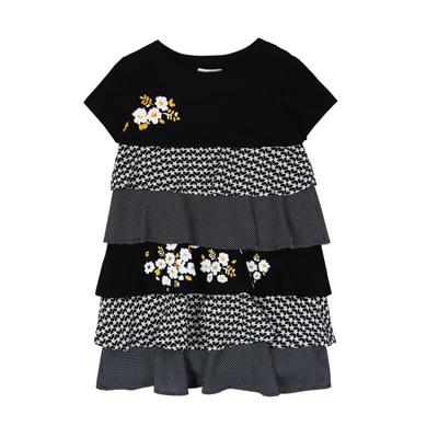 Black tiered dress - 7 1