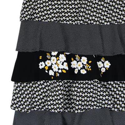 Black tiered dress - 7 2