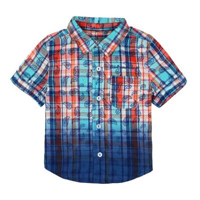 Paisley button up shirt 1