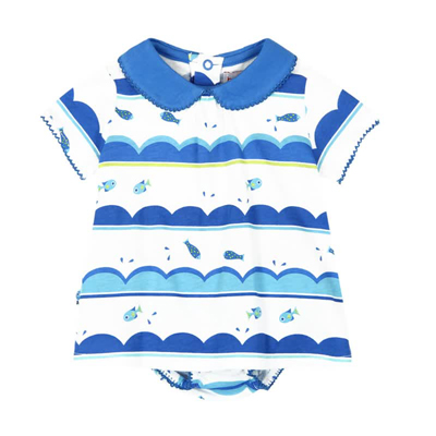Waves dress and bloomer 1