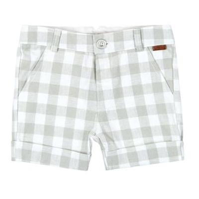 Linen bermuda shorts 1