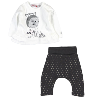 New World baby shirt & star pants 1