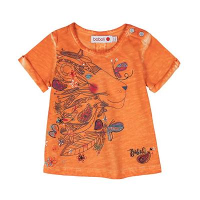 Orange Lion tee - 18 months 1