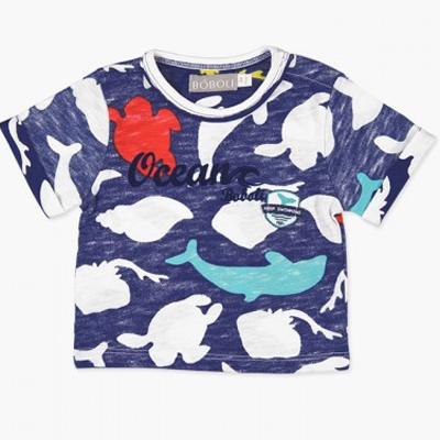 Sea animal baby shirt 1