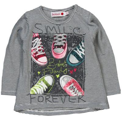 Smile forever sneaker shirt 1