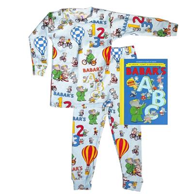 Babar Pajamas only (Blue) 1