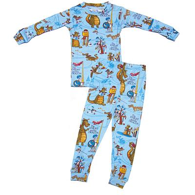 The Knight and the Dragon pajamas 1