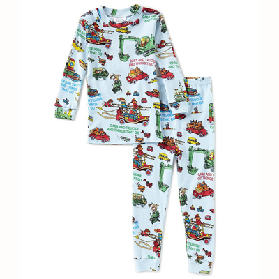 Richard Scarry Cars and Truck LS pajamas 1
