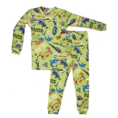 Shark Vs Train pajamas only 1